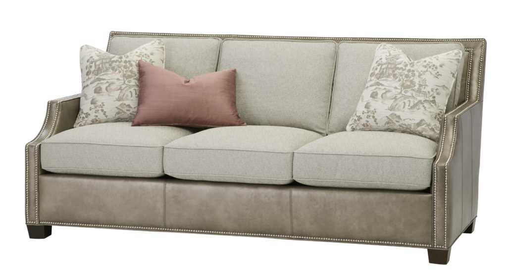 L7621 TAMILA GRAY massoud sofa leather_fabric sofa