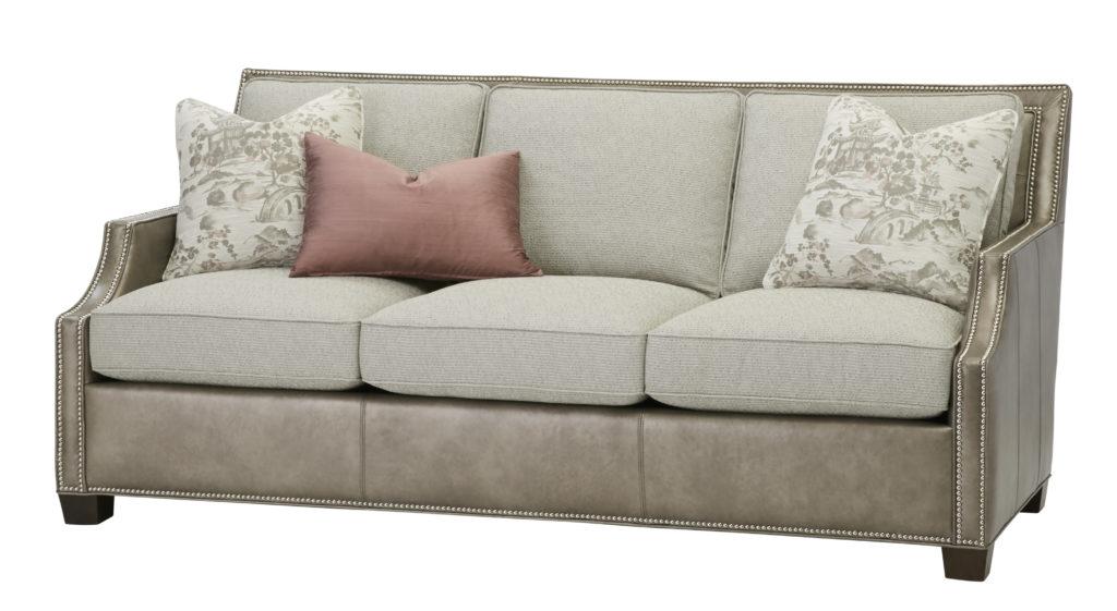 L7621 TAMILA GRAY massoud sofa leather_fabric sofa