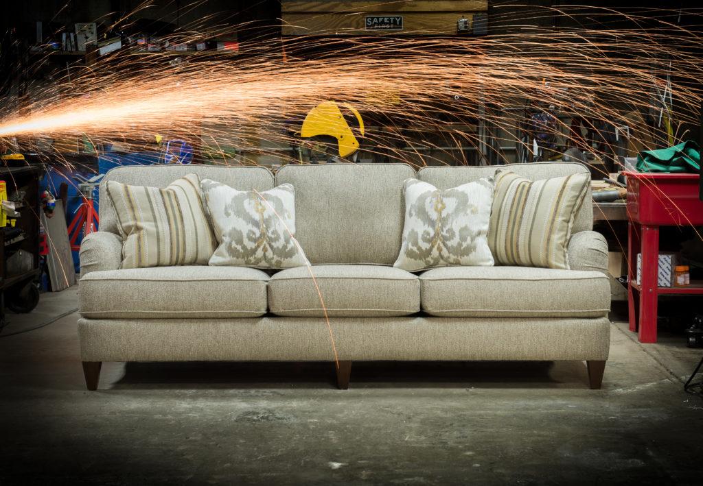 mayo furniture 2120.Countess Silver ENGLISH ARM