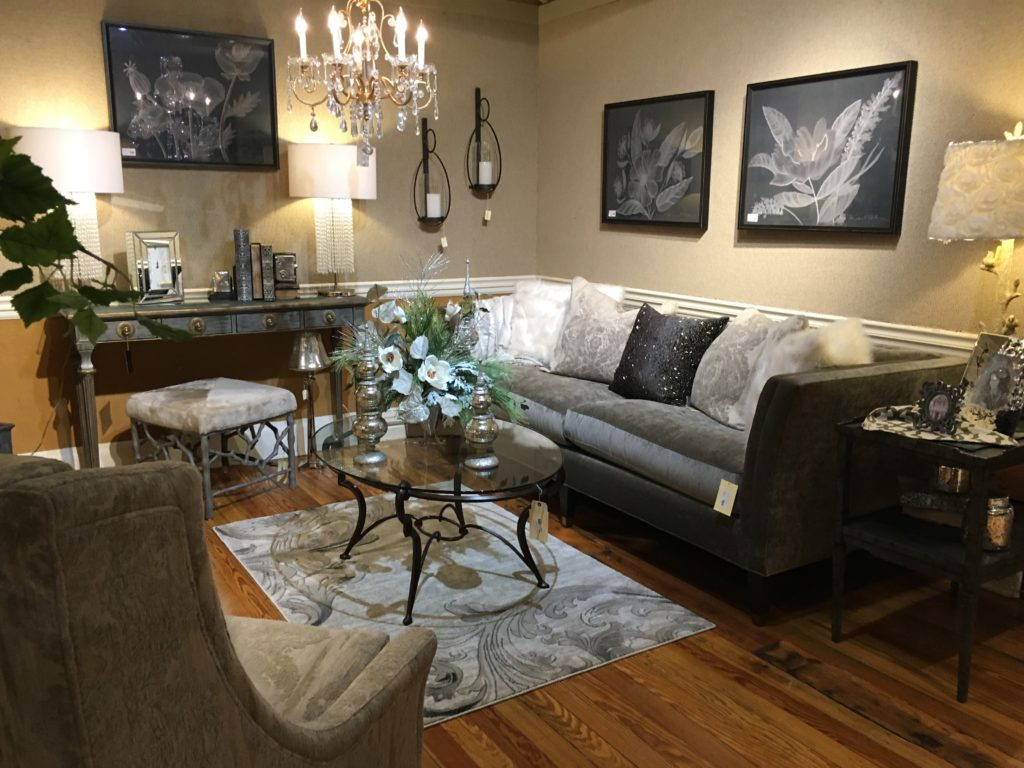 sherrill sofa grey_blacks living room metal cocktail table spicher and company wall decor sherrill chair everyday floral chandelier_