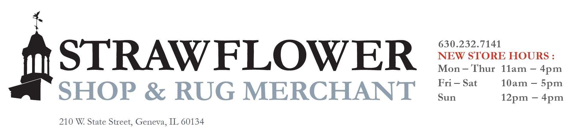 Strawflower Shop & Rug Merchant