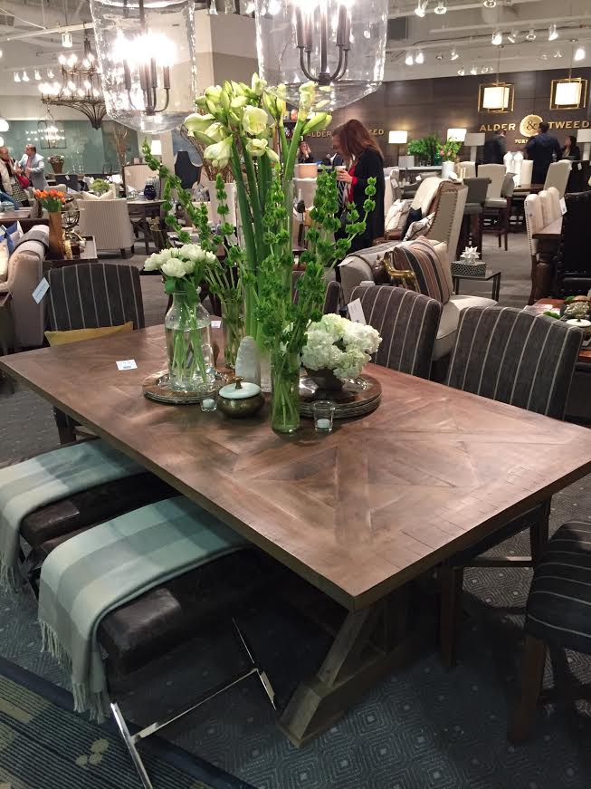Rectangle table alder _ tweed company_