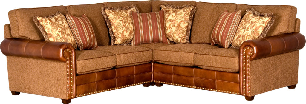 leather fabric sectional mayo_